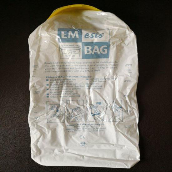 China Disposable Air Sickness Disposable Sick Bag/ Airplane