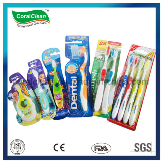 DuPont Bristle Adult's Tongue Cleaner Toothbrush Kids Children Tooth Brush