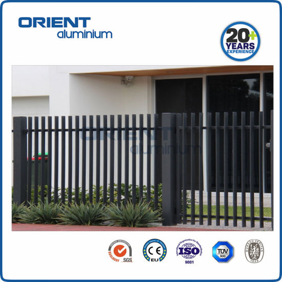Residential/Commercial/Garden/Swimming Pool Fence for Security and Ornamental, Aluminum and Metal Material Fence Panel