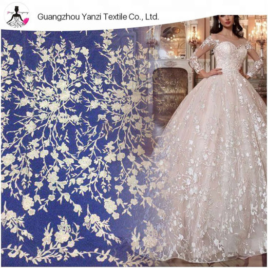 China New Style Beautiful And Generous White French Lace