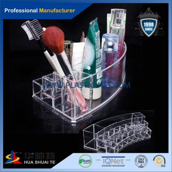 Wholesale Factory Custom Made Transparent Acrylic Makeup Beauty Box pictures & photos