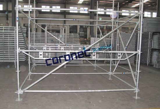 ANSI Certified Ringlock Steel Start/Base Collar Scaffold pictures & photos