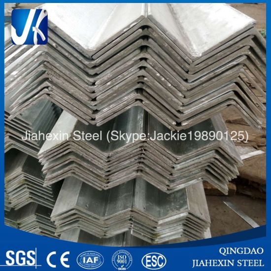 Prime Hot Dipped Galvanized Structural Steel Angle Bar (S235JR, S355JR) pictures & photos