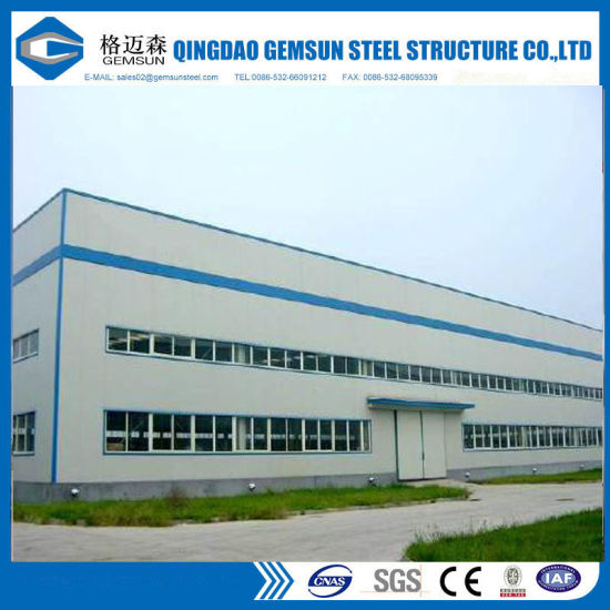 China Pre-Fabrication of Standard Size Portal Frame, Steel ...