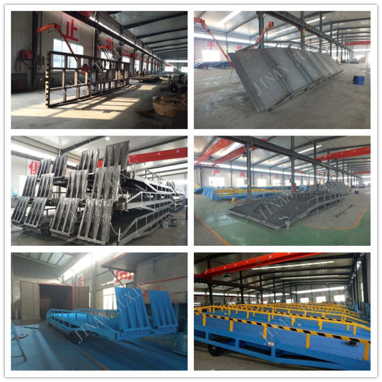 China Factory Supply Hydraulic Car Ramp Hydraulic Loading Ramp pictures & photos