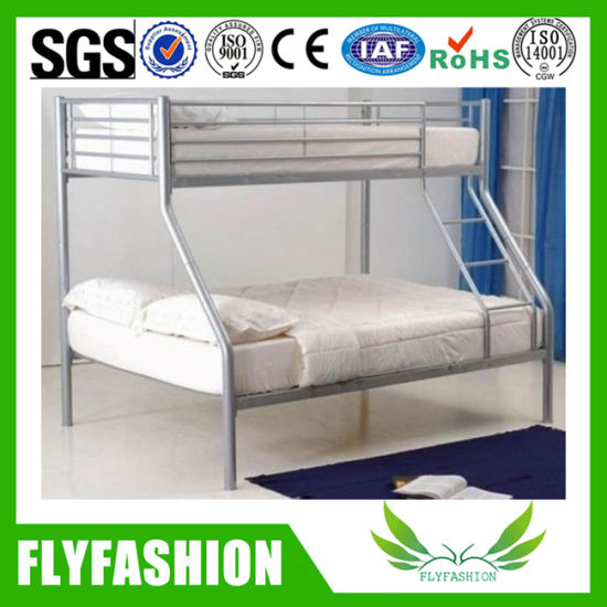 China Wholesale Metal Frame Triple Bunk Bed for School Dormitory (BD ...