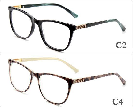 8b99dfb86c9b New Fashion Ready Goods Stock Acetate Optical Frame Glasses Eyewear Eye  Contrast Color with Custom Logo