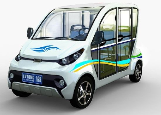 Four Wheel Electric Car for Family