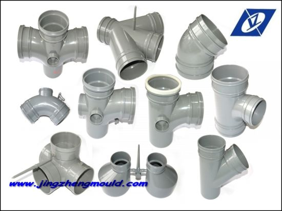 PVC Plastic Injection Pipe Fittings Mould