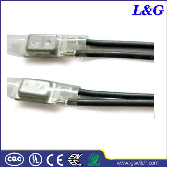 17ami Thermostat Cutoff Overload Thermal Protector 20A 250VAC Normally Closed Temperature Fuse