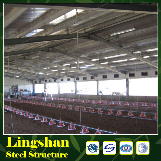 Prefabricated Steel Structure Chicken Poultry House pictures & photos