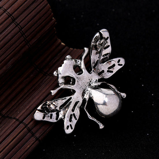 New Retro Alloy Animal Shaped Rhinestone Brooch Pin Jewelry pictures & photos