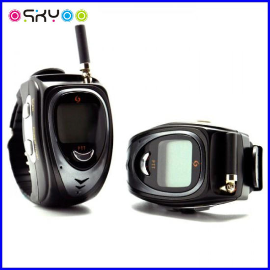 Two Way Radio Mobile Interphone Wristwatch Walkie Talkie (FOS-820) pictures & photos