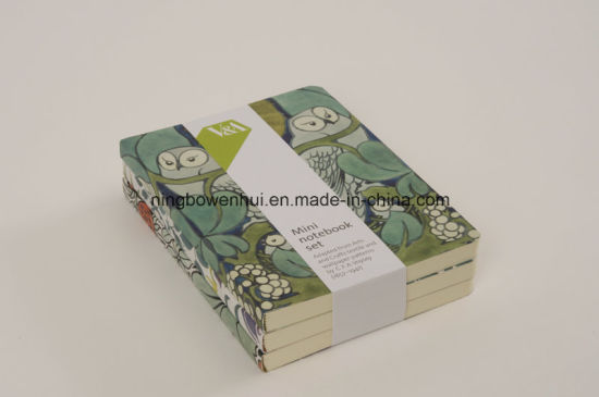 Customized Printing Soft Cover Mini Notebook Set