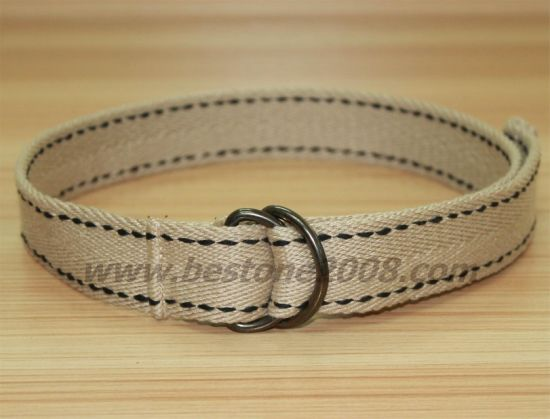 Factory Manufacture High Quality Canvas Webbing Belt for Garment Accessories