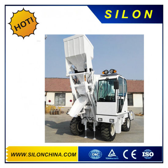 4.0m3 4WD Hydraulic Mounted Mixer Truck (SL4.0R) pictures & photos