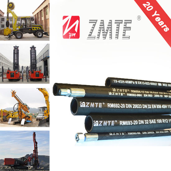 En 856 4sp Spiral Hydraulic Hose with High Pressure Application pictures & photos