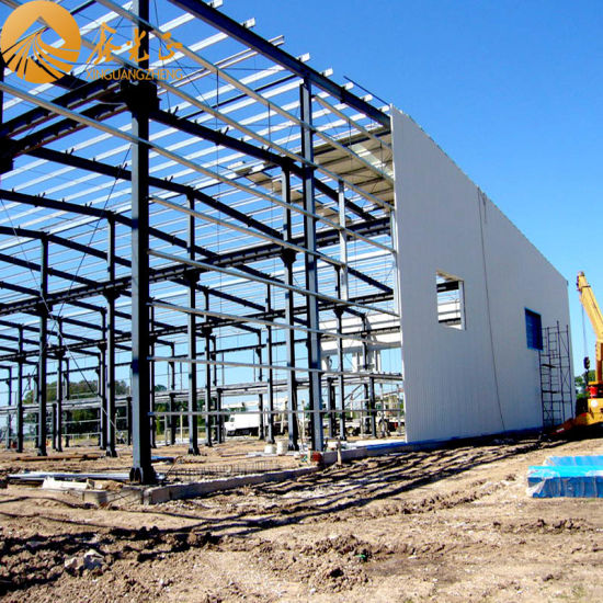 Prefabricated Steel Structure Plant (SS-389)