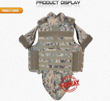 Full Protection Bulletproof Vest V-PRO051