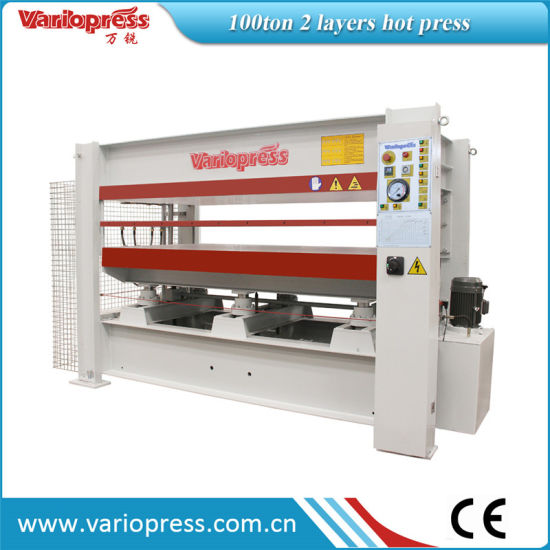 100ton Hot Press with 2 Layers pictures & photos
