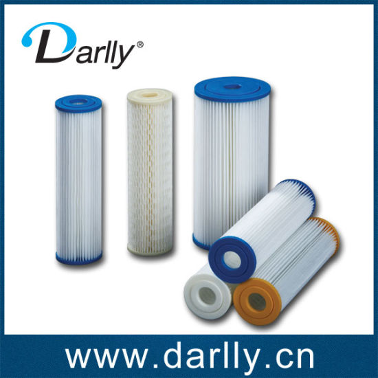 High Quality Pet Pleated Filter Cartridges for Water