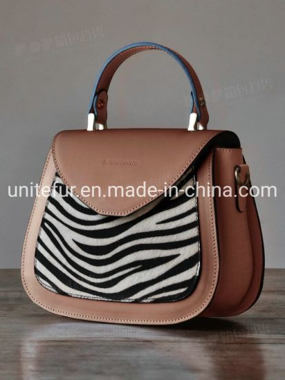 18008cattle/Cow Fur Skin with Hair for Luxury Fashion Lady Handbags Tote Bags Genuine Leather Raw Materials