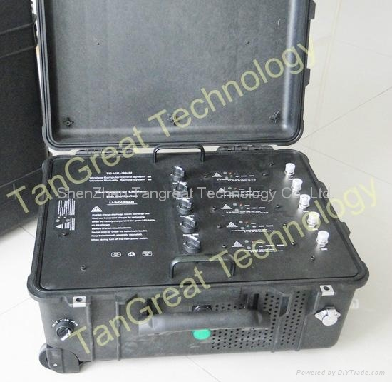 Portable Bomb Jammer Convoy Tactical Jammer