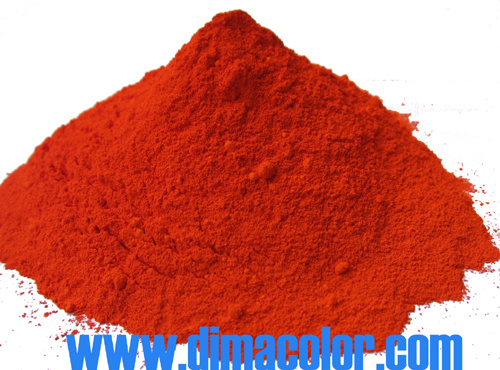 Powder Pigment Orange 34 in Paint (PO34-RL)