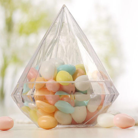 Clear Lucite Plastic Storage Box Acrylic Boxes for Wedding, Party Favor, Treats, Candy Mini Gifts, Sewing Set, Flower