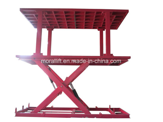 Scissor Parking Car Elevator for Basement with CE Certificate