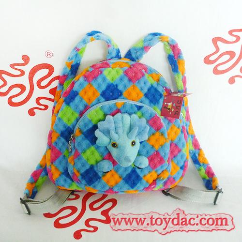 Plush Kids Dinosaur Backpack