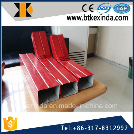 Kxd Galvanized Steel Downpipe Sheet Pipe Rolling Machine pictures & photos
