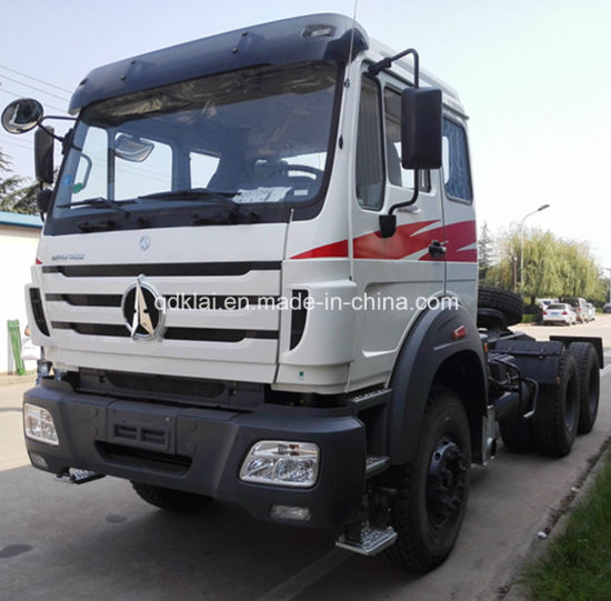 Mercedes Benz Technology North Benz/Beiben 6X4 420HP Trailer Head Tractor Truck pictures & photos