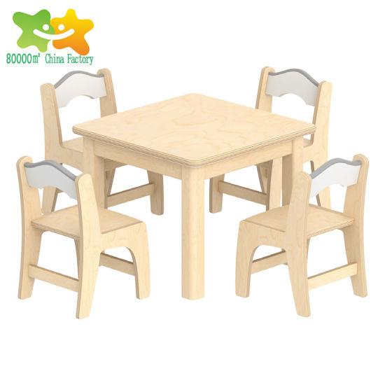 Modern Children Kindergarten School Baby Chair Table Products Kids Furniture