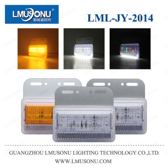 Lmusonu Jy-2014 RGB Truck LED Side Light Tail Light Waterproof IP68