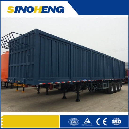 4432f46bec China 3 Axle 60ton Van Semi Trailer  Enclosed Box Truck Trailer ...