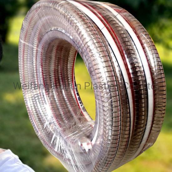 PVC Transparent Low Temperature Resistance Flexible Steel Wire Hoses