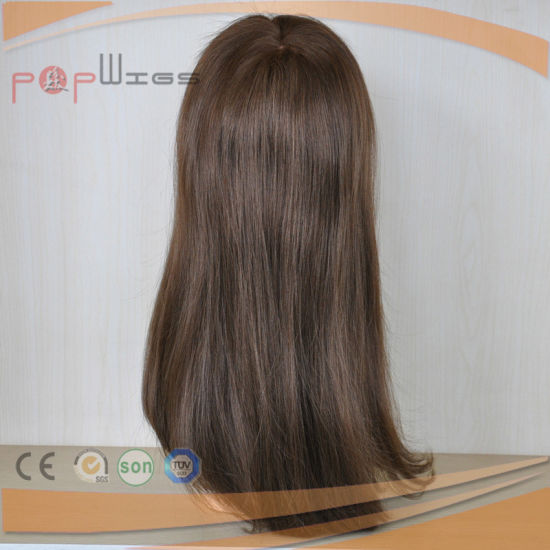 Stock Brazilian Hair Full French Front Lace Wig (PPG-l-01014) pictures & photos