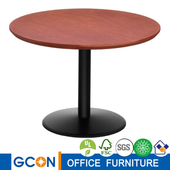 Wooden Round Negotiating Table Office Furniture Tables For