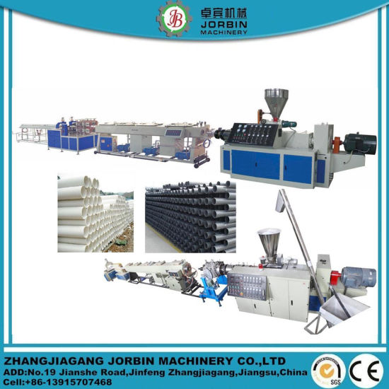 UPVC PVC PPR PE Drainage Drain Water Supply Pipe Produce Extrusion Pipe Making Machine