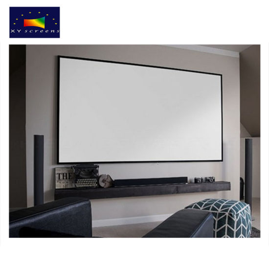 China Xy Screens HD 92 Inch Thin Fixed Frame Projection Screen/16: 9 ...