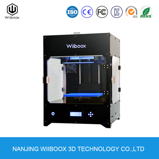Dual Nozzle High Accuracy 3D Printing Fdm Desktop 3D Printer pictures & photos