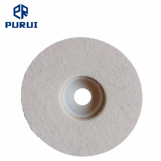 Felt Polishing Disc for Metal, Glass and Stone Polishing pictures & photos