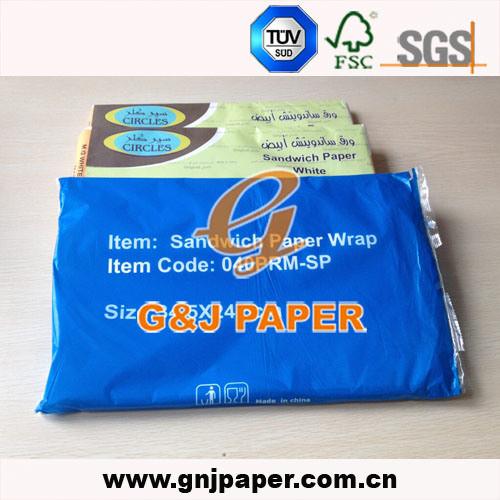 Qatar Market M  G  White Food Grade Bread Sandwich Wrapping Paper