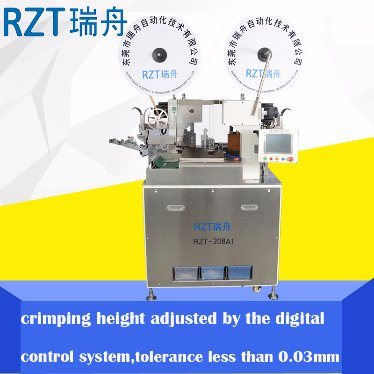 High Precision Automatic Double Ends Crimping Machine