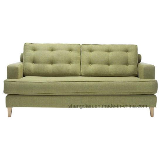 European Style Fabric Sofa Set Design Two Seat Used (ST0028)