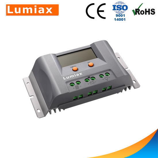 20A/30A/40A LCD PWM Solar Charger Controller with USB