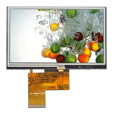 40pin 5inch TFT LCD Display 800*480 Touch Screen