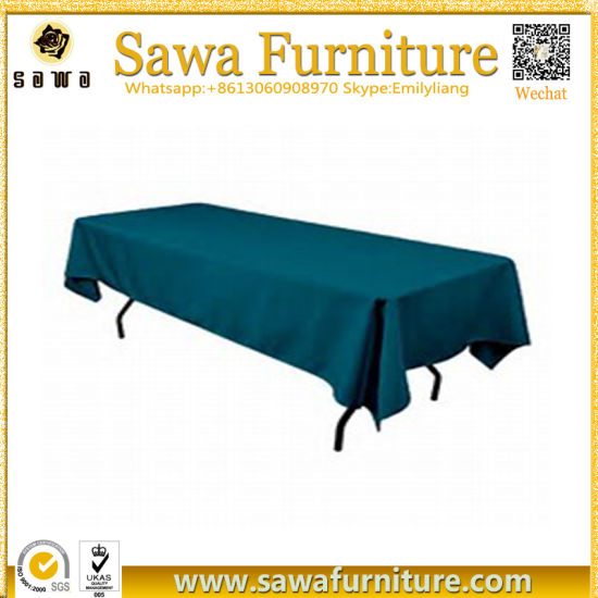 Polyester Table Clothes, Table Linens, Rectangle Table Cover pictures & photos