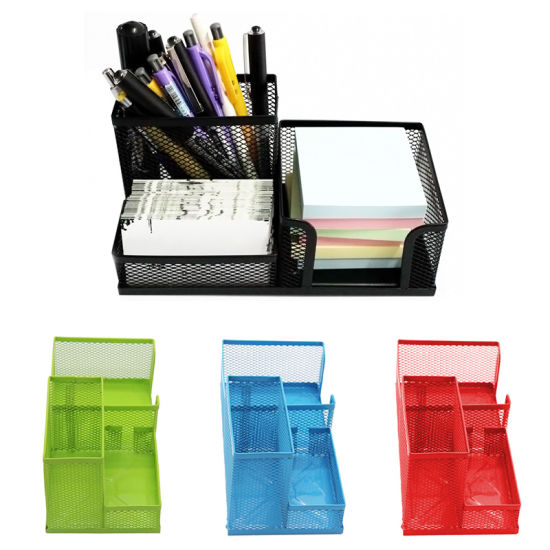 China Metal Wire Mesh Office Shcool Desk Desktop Pencil Pen ...